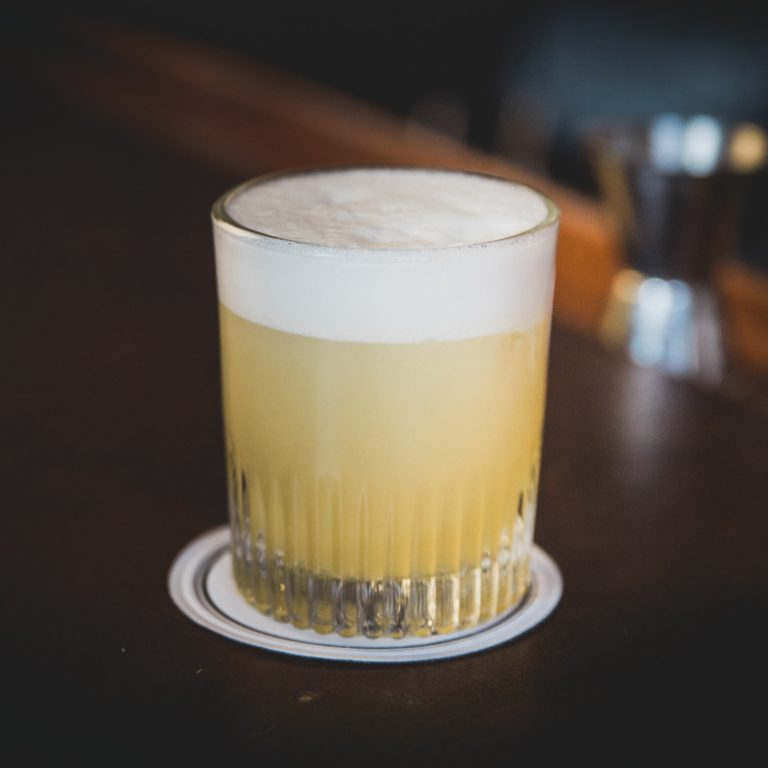 Cocktailopskrift Whiskey Sour
