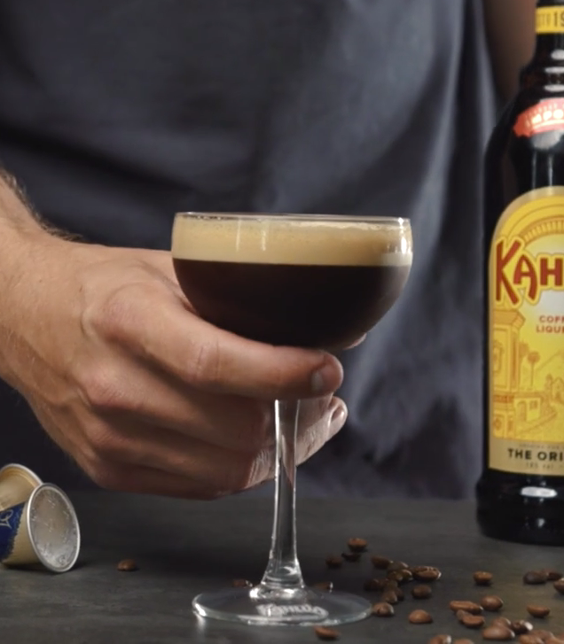 Cocktailopskrift Kahlua Espresso Martini