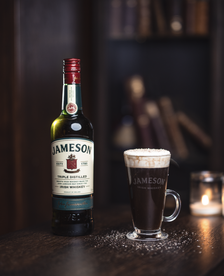 jameson irish coffee opskrift drink cocktail
